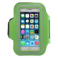 BaseRunning puzdro na ruku pre telefony do 125*60 mm - zelené