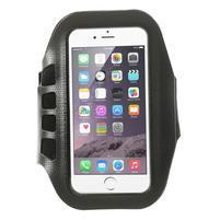 FX7 športové puzdro na ruku pre telefony do 145*80 mm - čierné