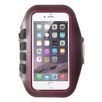 FX7 športové puzdro na ruku pre telefony do 145*80 mm - rose