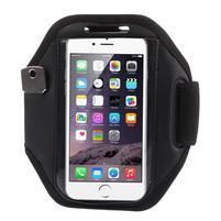 Absorb fitness puzdro na ruku pre telefony do 145*80 mm - čierne