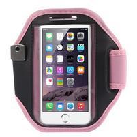 Absorb fitness puzdro na ruku pre telefony do 145*80 mm - ružové
