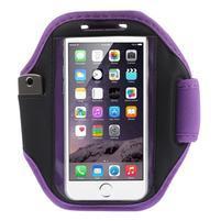 Absorb fitness puzdro na ruku pre telefony do 145*80 mm - fialové