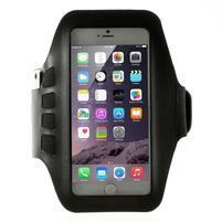 QX7 fitness športové puzdro na ruku pre telefony do 160*80 mm - čierne