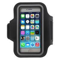 BaseRunning puzdro na ruku pre telefony do 125*60 mm - čierne
