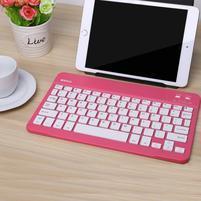 B7-9 bluetooth bezdrôtová klávesnica na tablety a mobily - rose