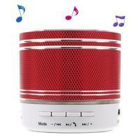 FunMusic stereo bezdrôtový reproduktor s hands-free - červený