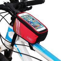 SoulCycle brašna na kolo pre telefony do 170 x 85mm - červená