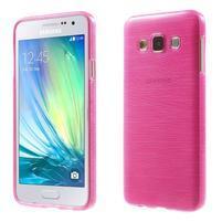 Broušené puzdro pre Samsung Galaxy A3 - rose
