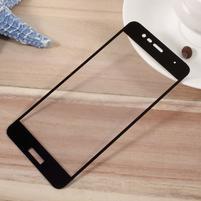 F9X fixačné celoplošné tvrdené sklo pre Asus Zenfone 3 Max ZC520TL - čierný lem