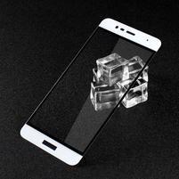 GTX celoploné fixačné tvrdené sklo pre Asus Zenfone 3 Max ZC520TL - bielý lem