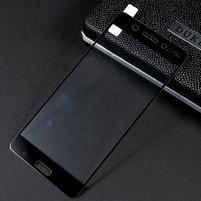 Celoplošné fixačné tvrdené sklo pre Nokia 6 - čierny lem