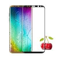 FFScreen celoplošné fixačné tvrdené sklo pre displej telefonu Samsung Galaxy S8+ - čierný lem