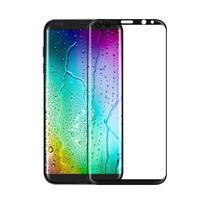 FFScreen celoplošné fixačné tvrdené sklo pre displej telefonu Samsung Galaxy S8 - čierný lem