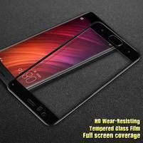 IM fixačné celoplošné tvrdené sklo pre Xiaomi Mi 6 - čierný lem