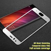 IM fixačné celoplošné tvrdené sklo pre Xiaomi Mi 6 - bielý lem
