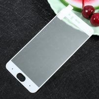 Full fixačné celoplošné tvrdené sklo pre Xiaomi Mi 6 - bielý lem