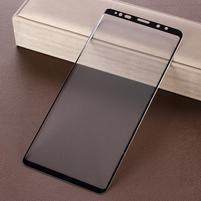 Full celoplošné tvrdené sklo na Samsung Galaxy Note 9 - čierny lem