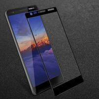 IMK celoplošné tvrdené sklo na mobil Nokia 3.1 - čierne