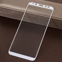 5DC celoplošné tvrdené sklo na Samsung Galaxy A6 (2018) - biely okraj