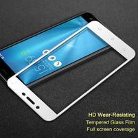 IMK celoplošné tvrdené sklo na displej Asus Zenfone 3 Max ZC553KL - biele
