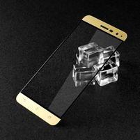 IMK celoplošné tvrdené sklo pre Asus Zenfone 3 ZE520KL - zlatý lem