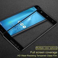 IMK celoplošné tvrdené sklo na displej Asus Zenfone 3 Zoom ZE553KL - čierny lem