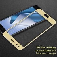 IMAK celoplošné tvrdené sklo na Asus Zenfone 4 ZE554KL - zlaté