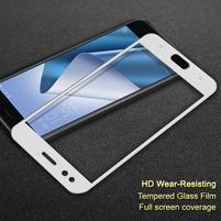 IMAK celoplošné tvrdené sklo na Asus Zenfone 4 ZE554KL - biele