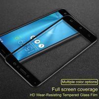 IMK celoplošné tvrdené sklo na displej Asus Zenfone Live ZB501KL - čierny lem