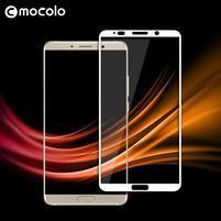 MLC celoplošné tvrdené sklo na Huawei Mate 10 - biely lem