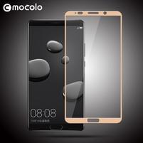 MLC celoplošné tvrdené sklo na Huawei Mate 10 - zlatý lem