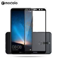 MLC celoplošné tvrdené sklo na Huawei Mate 10 Lite - čený lem