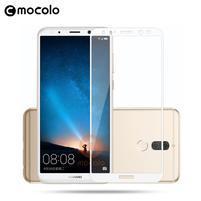 MLC celoplošné tvrdené sklo na Huawei Mate 10 Lite - biely lem