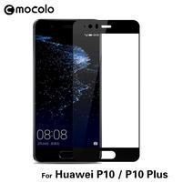 MLC celoplošné tvrdené sklo na displej Huawei P10 Plus - čierny lem