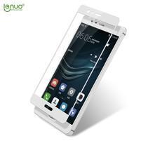 LEN celoplošné tvrdené sklo na Huawei P9 - biele