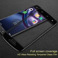 IMK celoplošné tvrdené sklo pre displej Lenovo Moto C Plus - čierny lem