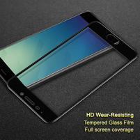 IMK celoplošné tvrdené sklo na Meizu M6 Note - čierny lem