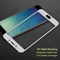 IMK celoplošné tvrdené sklo na Meizu M6 Note - biely lem