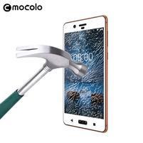 MLC celoplošné ochranné sklo na Nokia 8 - biely lem