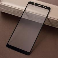 Silk celoplošné tvrdené sklo na Samsung Galaxy A6+ (2018) - čierne