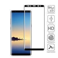 AGB celoplošné tvrdené sklo na displej Samsung Galaxy Note 8 - čierny lem