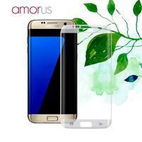 AMR celoplošné fixační tvrdené sklo na Samsung Galaxy S7 edge - priehľadný lem