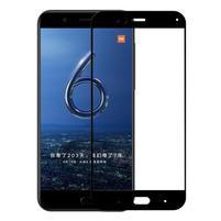 GX7 celoplošné tvrdené sklo pre Xiaomi Mi 6 - čierný lem