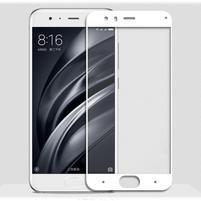 GX7 celoplošné tvrdené sklo pre Xiaomi Mi 6 - bielý lem