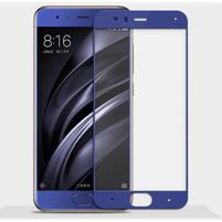 GX7 celoplošné tvrdené sklo pre Xiaomi Mi 6 - modrý lem