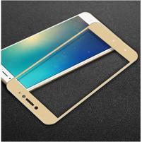 IMK celoplošné tvrdené sklo na displej Xiaomi Mi Max 2 - zlatý lem