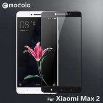 MLC celoplošné tvrdené sklo na Xiaomi Mi Max 2 - čierny lem