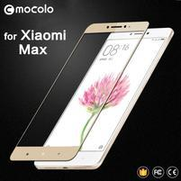 MLC celoplošné tvrdené sklo na Xiaomi Mi Max - zlatý lem