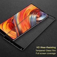 IMK celoplošné tvrdené sklo na displej Xiaomi Mi Mix 2 - čierny lem