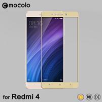 FKS celoplošné tvrdené sklo na Xiaomi Redmi 4 - zlaté